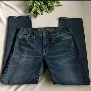 AEO jeans relaxed straight fit 29x30""